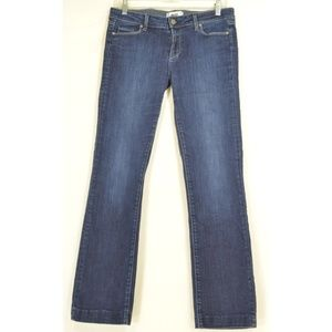 Paige jeans 30 x 29 Skyline Straight ankle dark US
